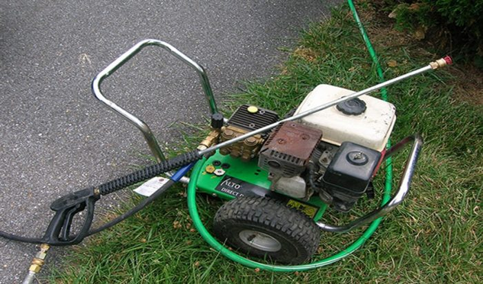 pressure washer floor cleaner