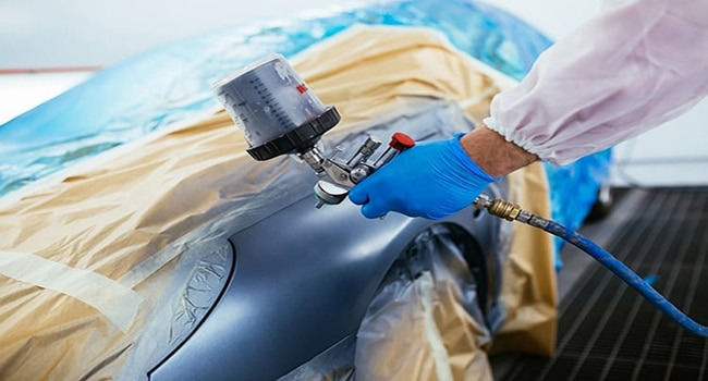 How to Use a Spray Gun to Paint a Car