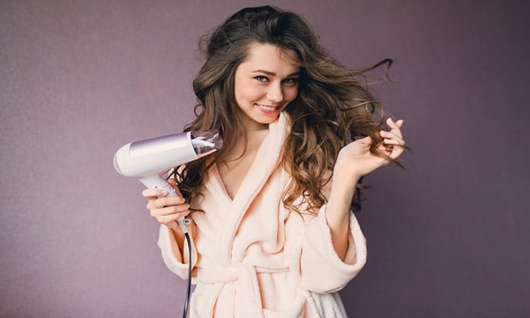 How to Blow Dry Natural Hair Silky Straight