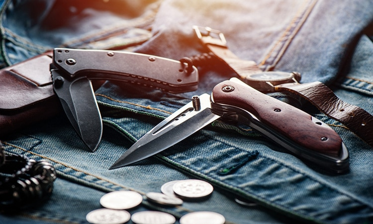 best folding knife under 500